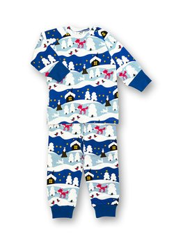 PYJAMAS 2pcs  SNOWY COTTAGE