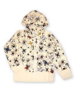 HOODIE ZIP COLLEGE HAPPY SPIDER