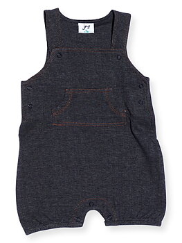 DUNGAREES s/l DENIMLOOK dark denim