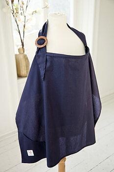 Amningsfilt - Mörkblå