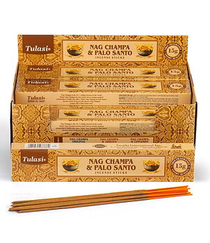 Incense Sticks Tulasi - Nag Champa & Palo Santo