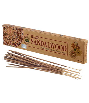 Incense Sticks Goloka - Natural Sandalwood