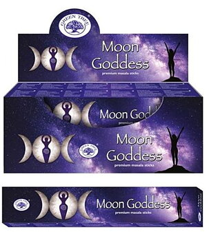 Incense Sticks Green Tree - Moon Goddess