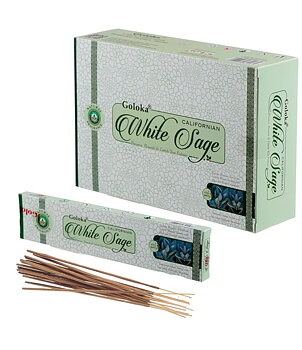 Incense Sticks Goloka - Popular Series CALIFORNIAN WHITE SAGE
