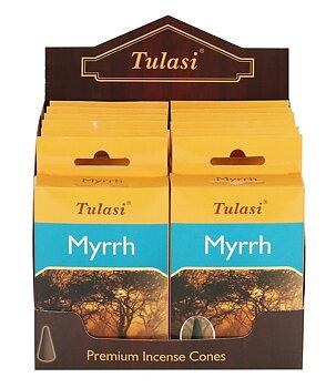 Incense Cones Tulasi - Myrrh