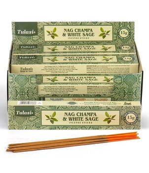 Incense Sticks Tulasi - Nag Champa & White Sage