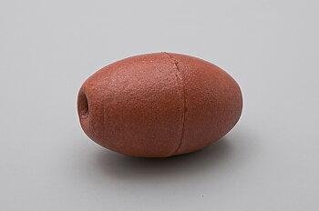 Äggflöte, röd, PVC skum, L