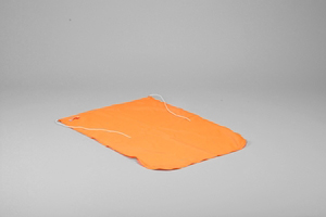 Flag, Dacron, 50x70 cm, Orange