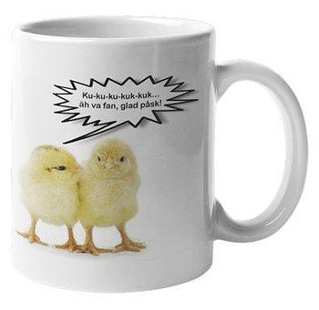 Mugg - Kycklingar, Glad påsk