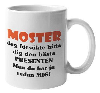 Mugg - Moster presenten
