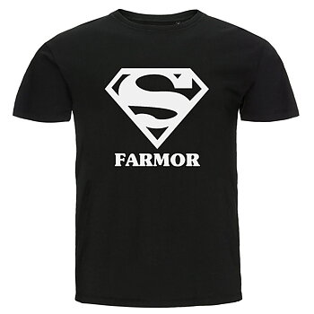 T-shirt - Super farmor