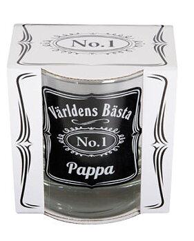 Whisky glas - Världens bästa pappa