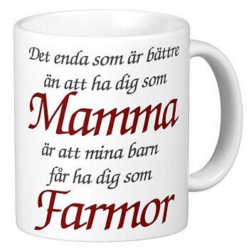 Mugg - Mamma - Farmor