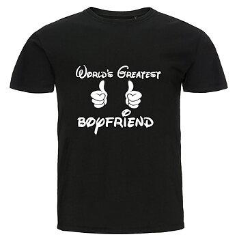 T-shirt - World's greatest boyfriend