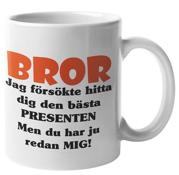Mugg - Bror presenten