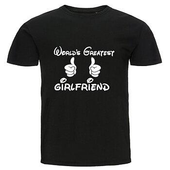 T-shirt - World's greatest girlfriend