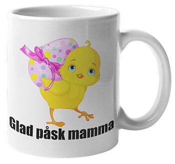 Mugg - Glad påsk mamma