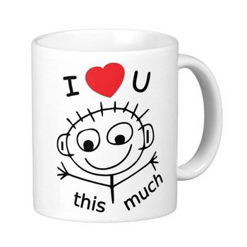 Mugg - I love you this much