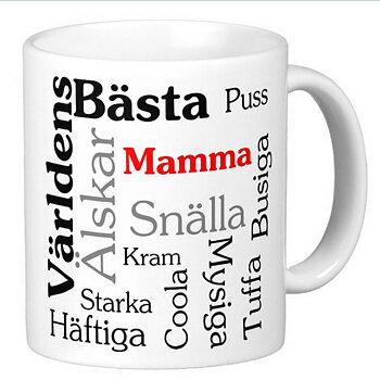 Mugg - Världens bästa mamma