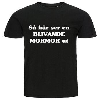 T-shirt - Så här ser en blivande mormor ut