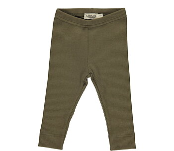 MarMar -  ribbade leggings loden