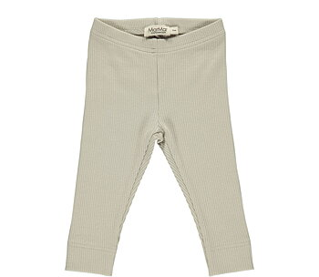MarMar -  ribbade leggings grey sand