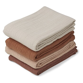 Liewood - muslin cloth 4 pack, rose mix