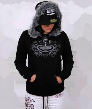 Furlined Zip Hoodie -