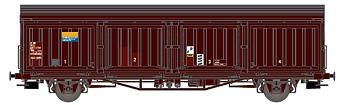 Godsvagn SJ Hbis 21 RIV 74 SJ 225 0 379-7