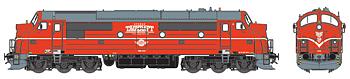 Diesellok Tågkraft TMX 1033 (DC m ljud)