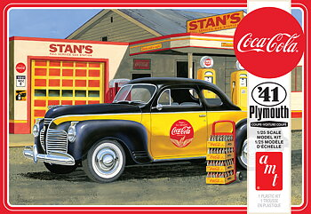 1941 Plymouth Coupe  'Coca Cola' 1/25