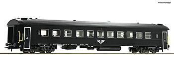 Passvagn B7 1.Kl. svart, SJ #1