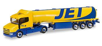 "Scania Hauber fuel tank semitrailer ""Jet"""