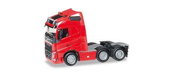 Volvo FH GL 6x2 dragbill röd, extraljus