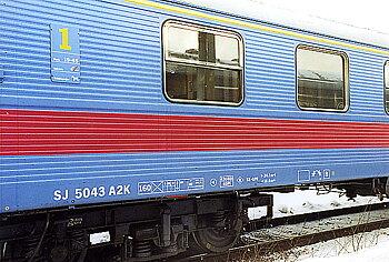 Personvagn SJ A2K 5043, 'Inter-Regio'