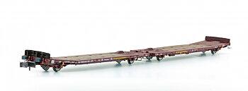 Låglastvagn TWA800A Laadks Transwaggon