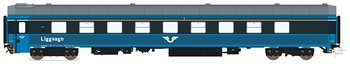 Liggvagn BC4 5440 SJ Blå generation 2
