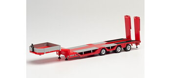 Goldhofer Allrounder Trailer 3-axle, red