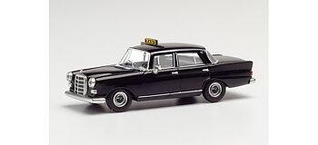 Mercedes-Benz 200 'Taxi', svart