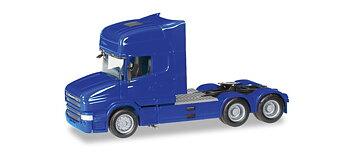 Scania H TL dragbil 3a blå