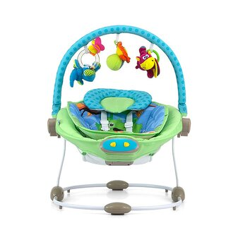 Babysitter & babygunga Sweet Dreams - Blue/Green