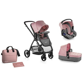 Barnvagn Slide 3 Top Plus inkl. babyskydd Zero, 2020