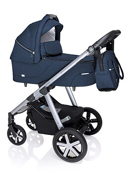 Barnvagn Husky 2020, Baby Design, 2i1 (max vikt 22kg)