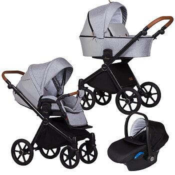 Barnvagnspaket 3i1 Baby Merc Mango
