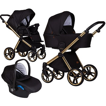 Barnvagnspaket 3i1 Baby Merc Mango Limited Edition