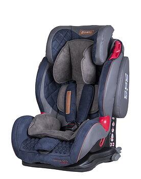 Bilbarnstol med lutning Sportivo Only ISOfix - Blue
