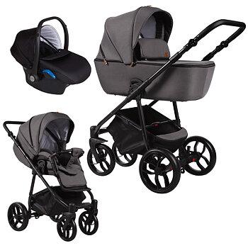 Barnvagnspaket 3i1 Baby Merc La Noche