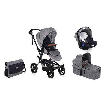 Barnvagnspaket 3i1 Crosswalk R+Micro+i-Koos JANE 2020