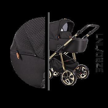 Barnvagnspaket 3i1 Baby Merc La Noche Limited