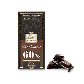 Slitti mörk choklad 60%,100g